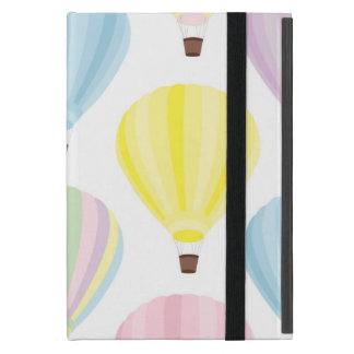Hot Air Balloon Pastel Pattern Cover For iPad Mini