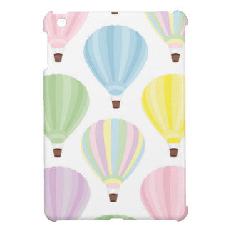 Hot Air Balloon Pastel Pattern iPad Mini Cases