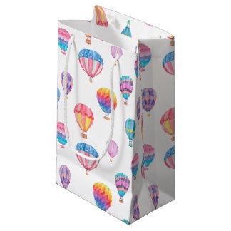 Hot Air Balloon Pattern Small Gift Bag