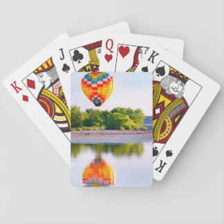 Hot Air Balloon Playing Cards