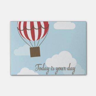 Hot Air Balloon Post-it Notes