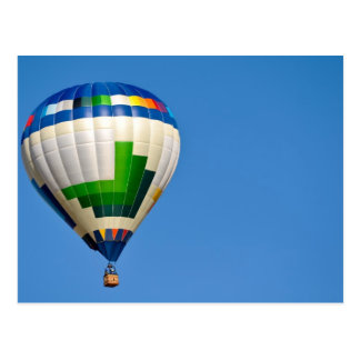 Hot Air Balloon Postcard
