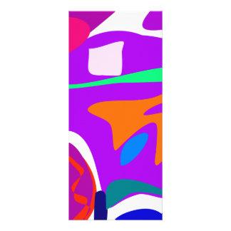 Hot-Air Balloon Purple Rack Cards