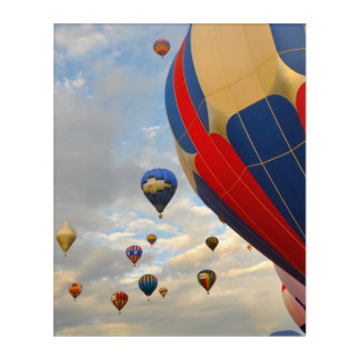 Hot Air Balloon Race in Reno Nevada Acrylic Wall Art