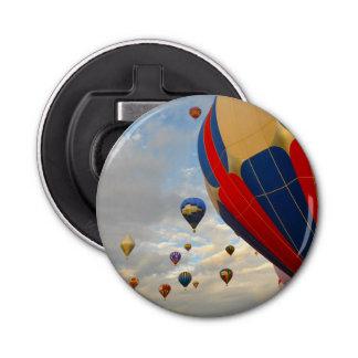 Hot Air Balloon Race in Reno Nevada Bottle Opener