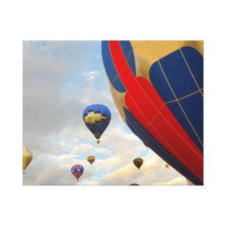 Hot Air Balloon Race in Reno Nevada Canvas Print