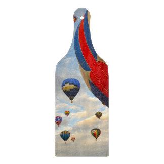 Hot Air Balloon Race in Reno Nevada Cutting Board