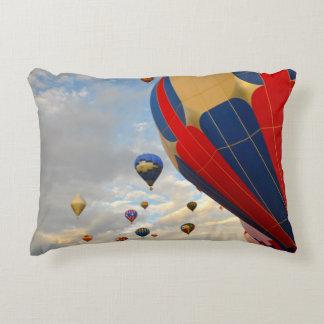 Hot Air Balloon Race in Reno Nevada Decorative Cushion
