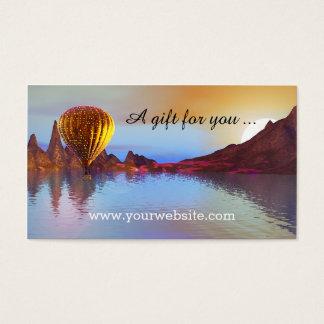Hot Air Balloon Ride Gift Certificate Template