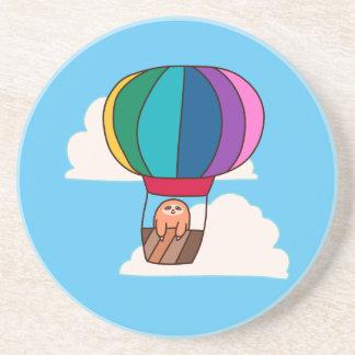 Hot Air Balloon Sloth Coaster