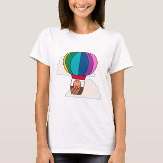 Hot Air Balloon Sloth T-Shirt