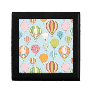 Hot Air Balloon Small Square Gift Box