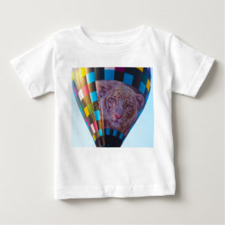 Hot Air Balloon, Snow Leopard, Olathe, Kansas Baby T-Shirt