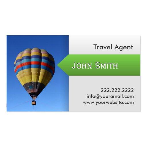 Hot Air Balloon Travel Agent Business Card