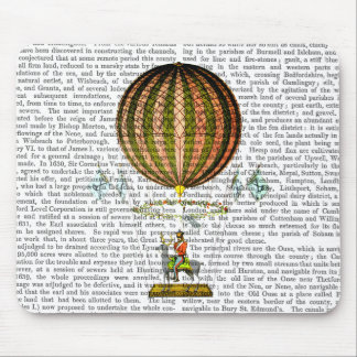 Hot Air Balloon Zephire 2 Mouse Pad
