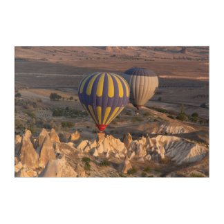 Hot Air Ballooning In Turkey Acrylic Wall Art