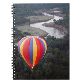 Hot-Air Ballooning over the Mara River Notebooks