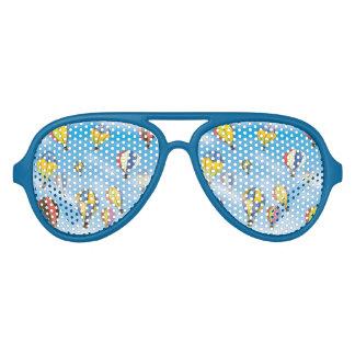 Hot Air Balloons Aviator Sunglasses