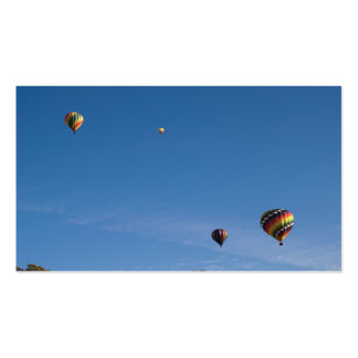 Hot Air Balloons Pack Of Standard Business Cards