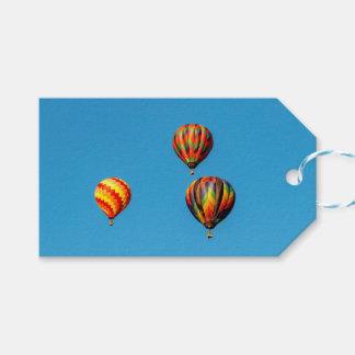 Hot Air Balloons Gift Tags