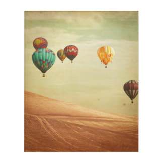 Hot Air Balloons In The Sky Acrylic Print
