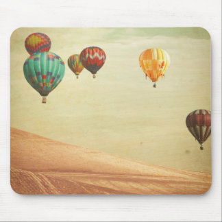 Hot Air Balloons In The Sky Mouse Pad