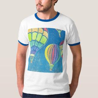 Hot Air Balloons Men's Ringer T-Shirt