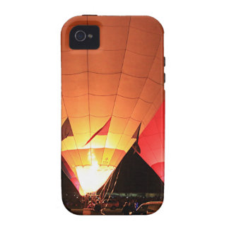 Hot air balloons night glow iPhone 4/4S covers