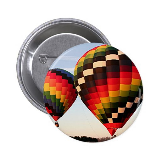 Hot air balloons, Orlando, Florida, USA 4 Button
