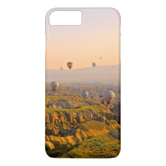 Hot Air Balloons Over a Beautiful Rugged Terrain iPhone 8 Plus/7 Plus Case