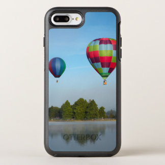 Hot air balloons over a lake,  NZ OtterBox Symmetry iPhone 8 Plus/7 Plus Case