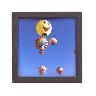 Hot air balloons premium jewelry box