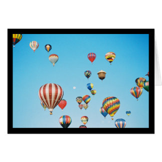 Hot Air Balloons- Song of Sol. 2:3 Greeting Card