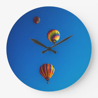 Hot Air Balloons Wall Clock