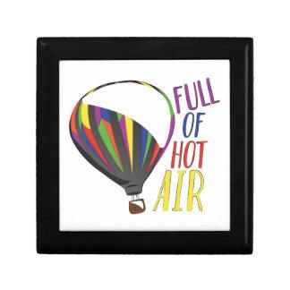 Hot Air Small Square Gift Box
