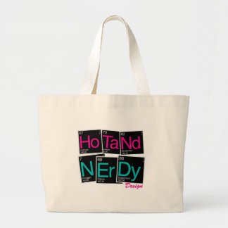 Hot and nerdy periodic table bags