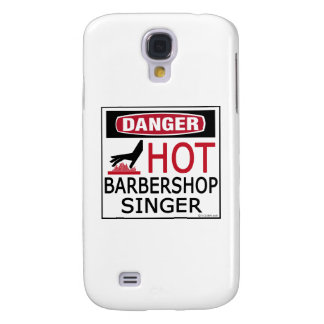 Hot Barbershop Singer Samsung Galaxy S4 Case