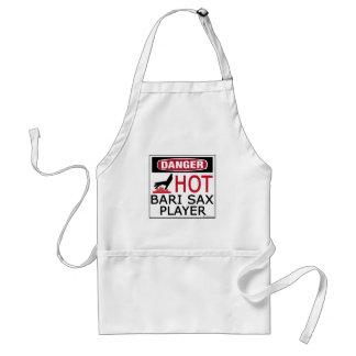 Hot Bari Sax Player Standard Apron