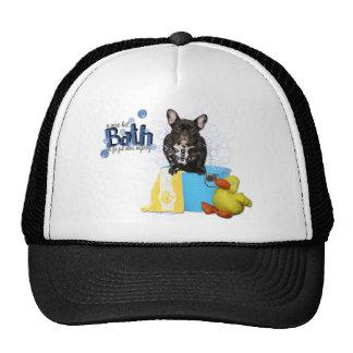 Hot Bath - French Bulldog - Teal Cap