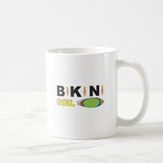 hot bikini girl coffee mug