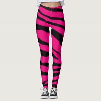 Hot black/pink ones put-went leggings