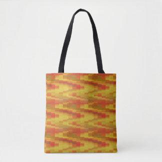 Hot Blocks Tote Bag