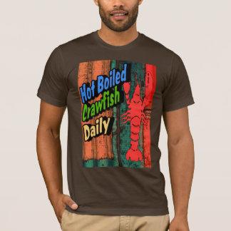 Hot Boiled Crawfish Daily Sign T-Shirt