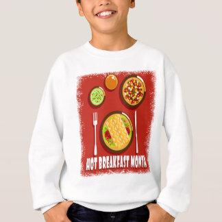 Hot Breakfast Month February - Appreciation Day Sweatshirt