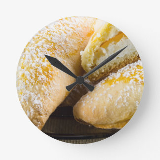 Hot cakes with cheese stuffing wallclock