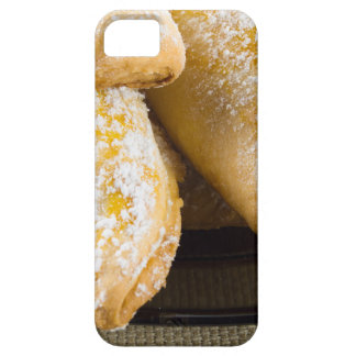 Hot cakes with sweet filling, sprinkled iPhone 5 cases