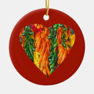 Hot Chile Peppers II Christmas Ornaments