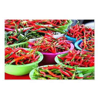 Hot Chili Peppers Photo Print
