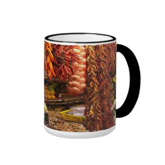 Hot chili ringer mug