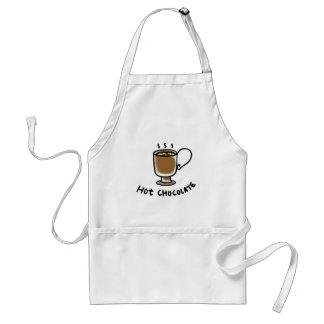 Hot chocolate aprons